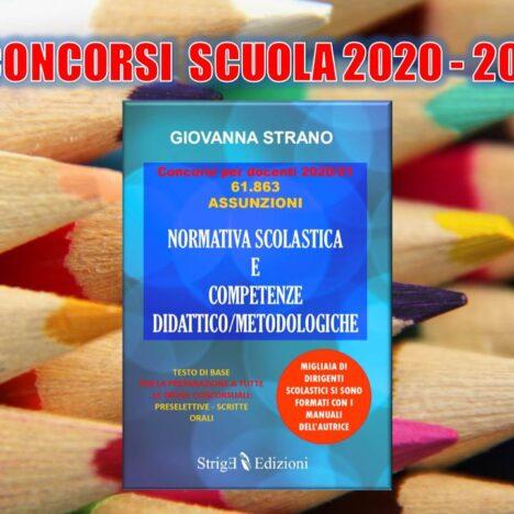 On-line l'indice del Manuale di preparazione al concorso docenti
